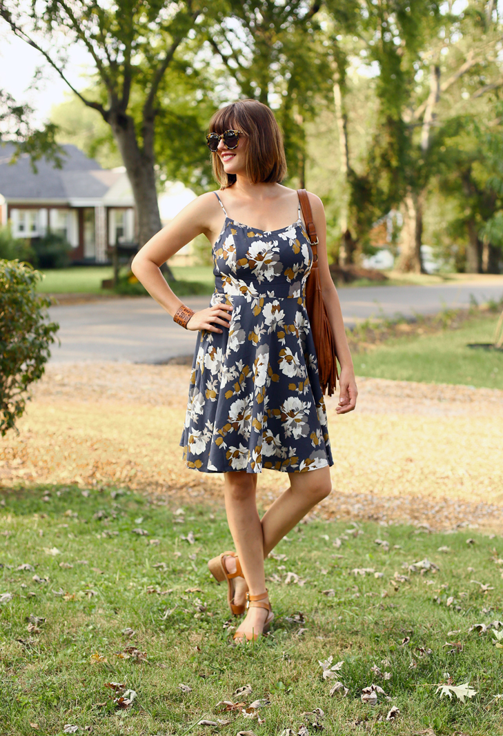 Old Navy transition dress, Jessica Quirk