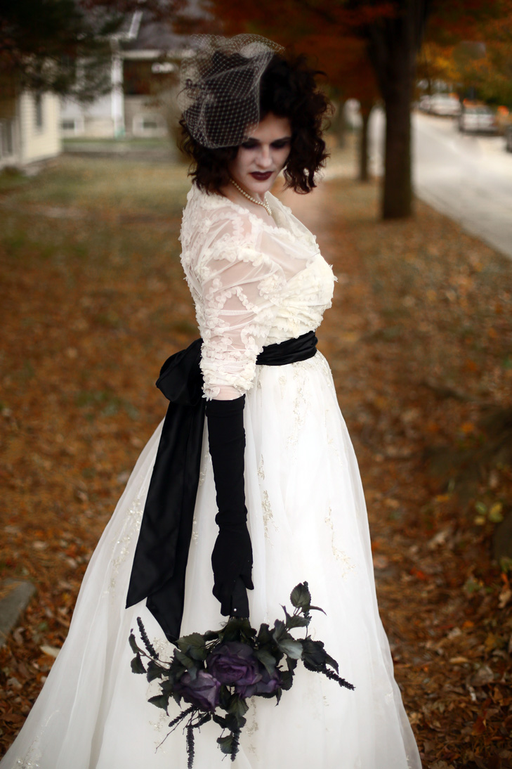 Corpse Bride Costume, Gothic Bride, Goth Bride, Halloween Wedding