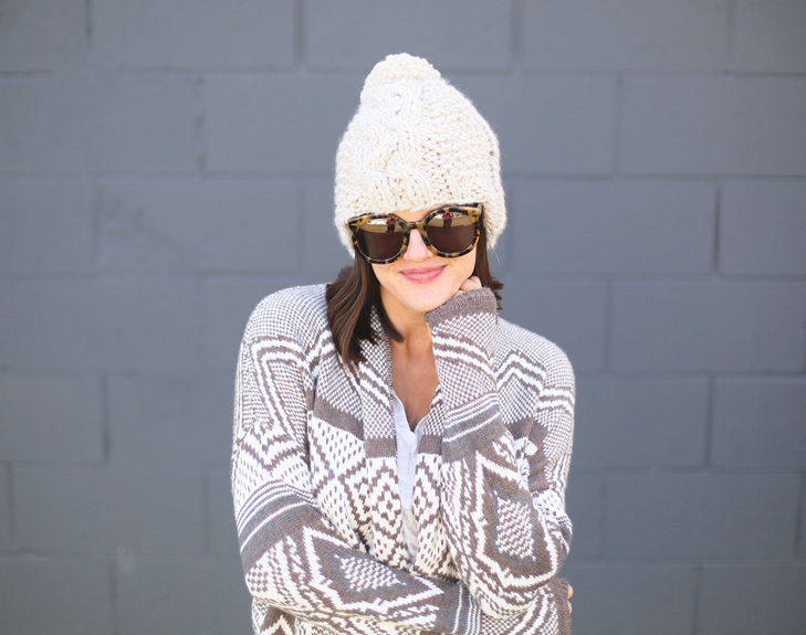Cute Fall Outfit, Thanksgiving Outfit, Cozy Outfit, Knit hat