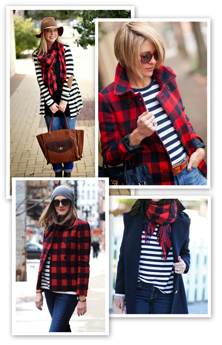 Buffalo Plaid and Stripes, Inspired By, Inspiration