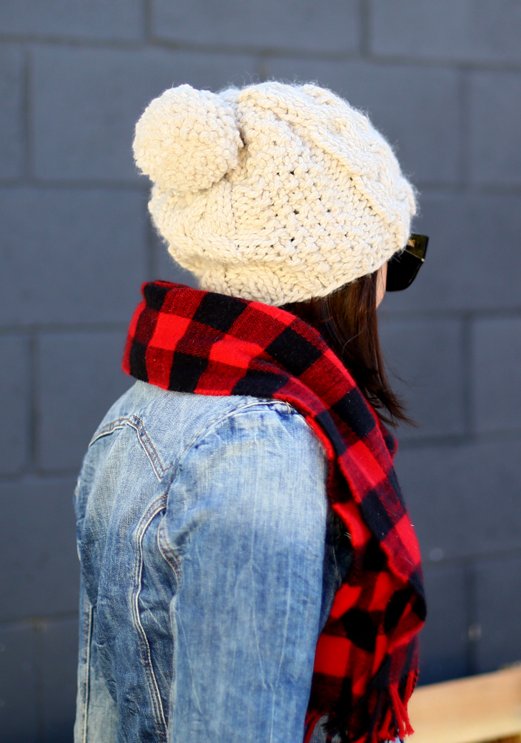 Buffalo Plaid, Stripes, Fall Outfit, Jean Jacket, What I Wore