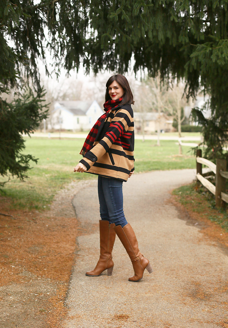 christmasy outfit, december outfit, buffalo plaid, whatiwore.tumblr.com