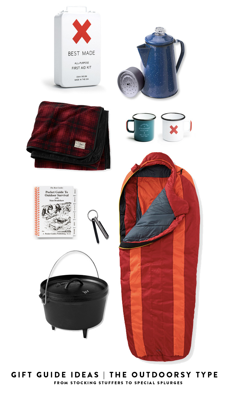gifts for the outdoorsy type