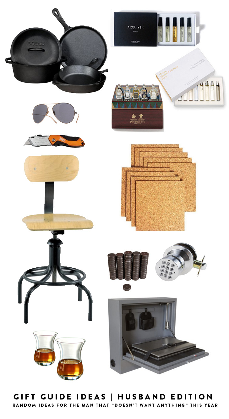 Gift ideas for the guy that doesn't want anything this year, husband gift ideas