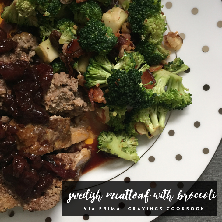 Paleo Swedish Meatloaf inspired by IKEA meatballs
