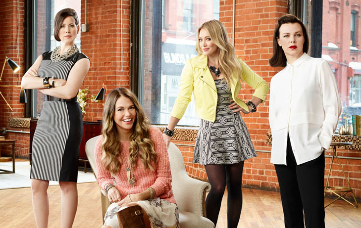 Younger on TV land, Sutton Foster, Hillary Duff