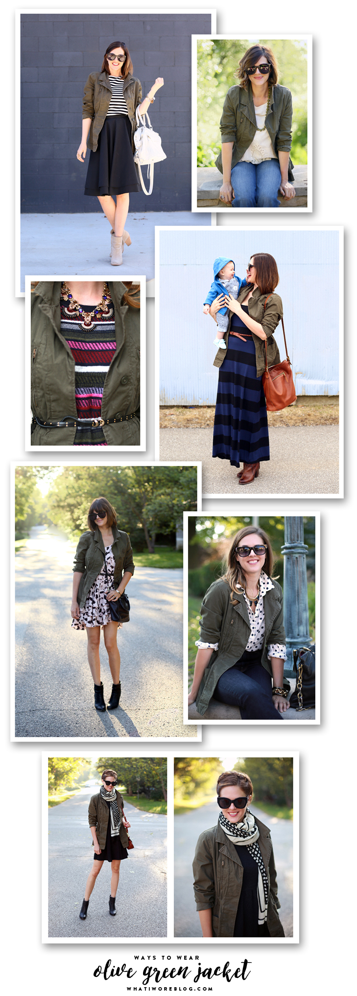 Ways to Wear an Olive Green Jacket, Army Jacket