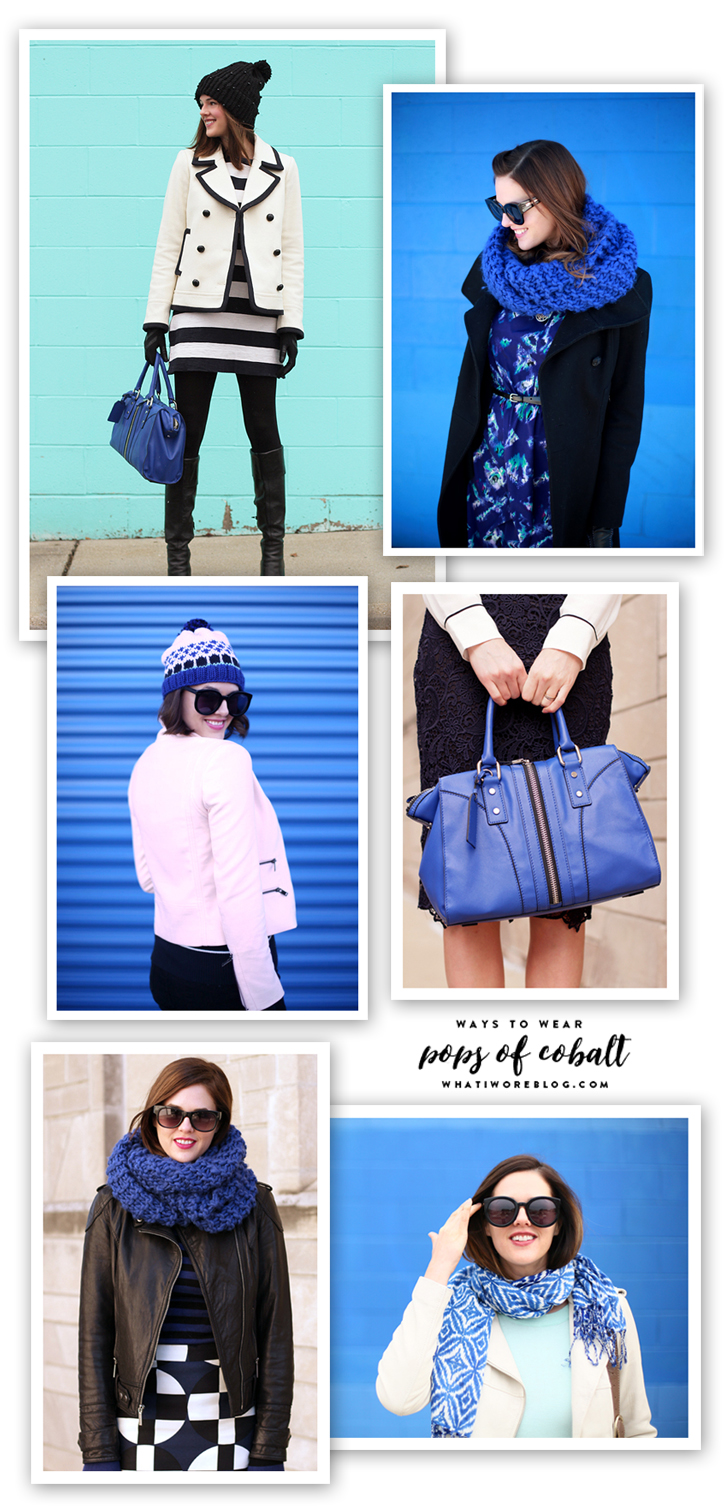 Cobalt, Ways to wear Cobalt