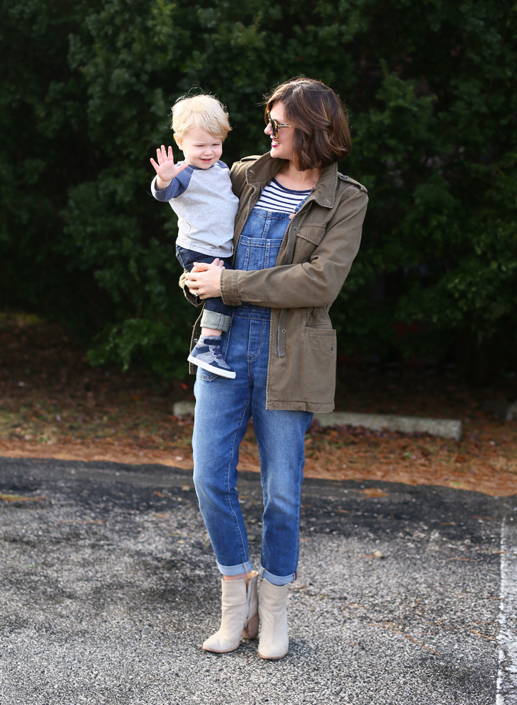 Overalls, Mommy and Me outfits, Dressing your toddler boy, How to style overalls