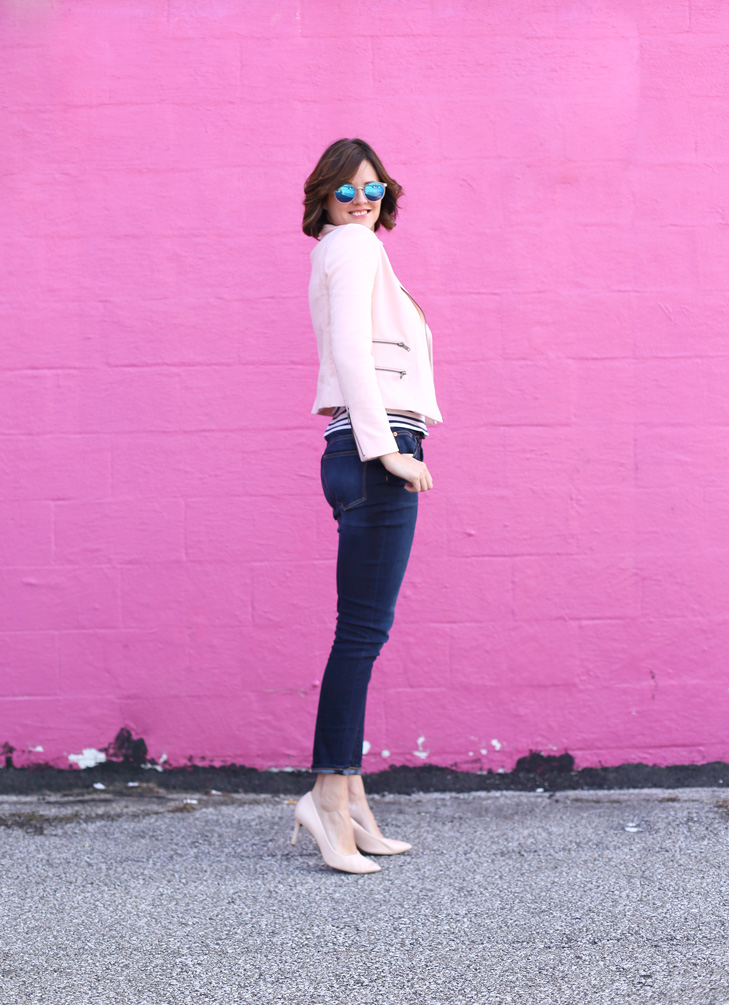 Pale pink outfit, Pale Pink, How to style pale pink for spring