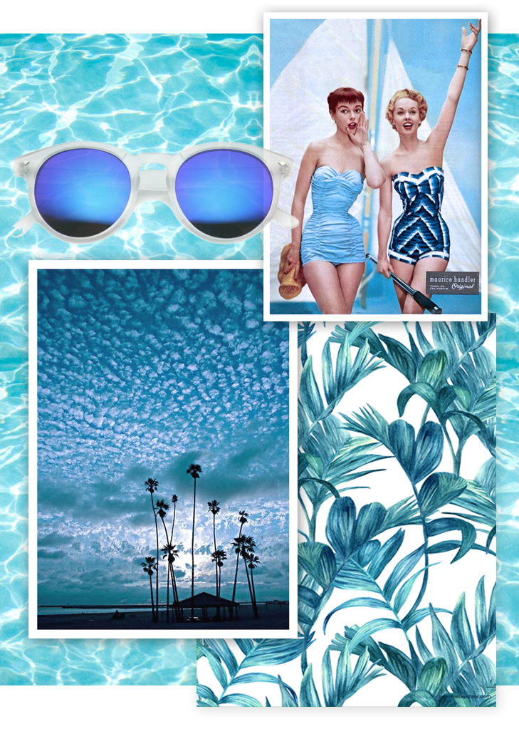 Blue Palms Beach Inspiration on What I Wore