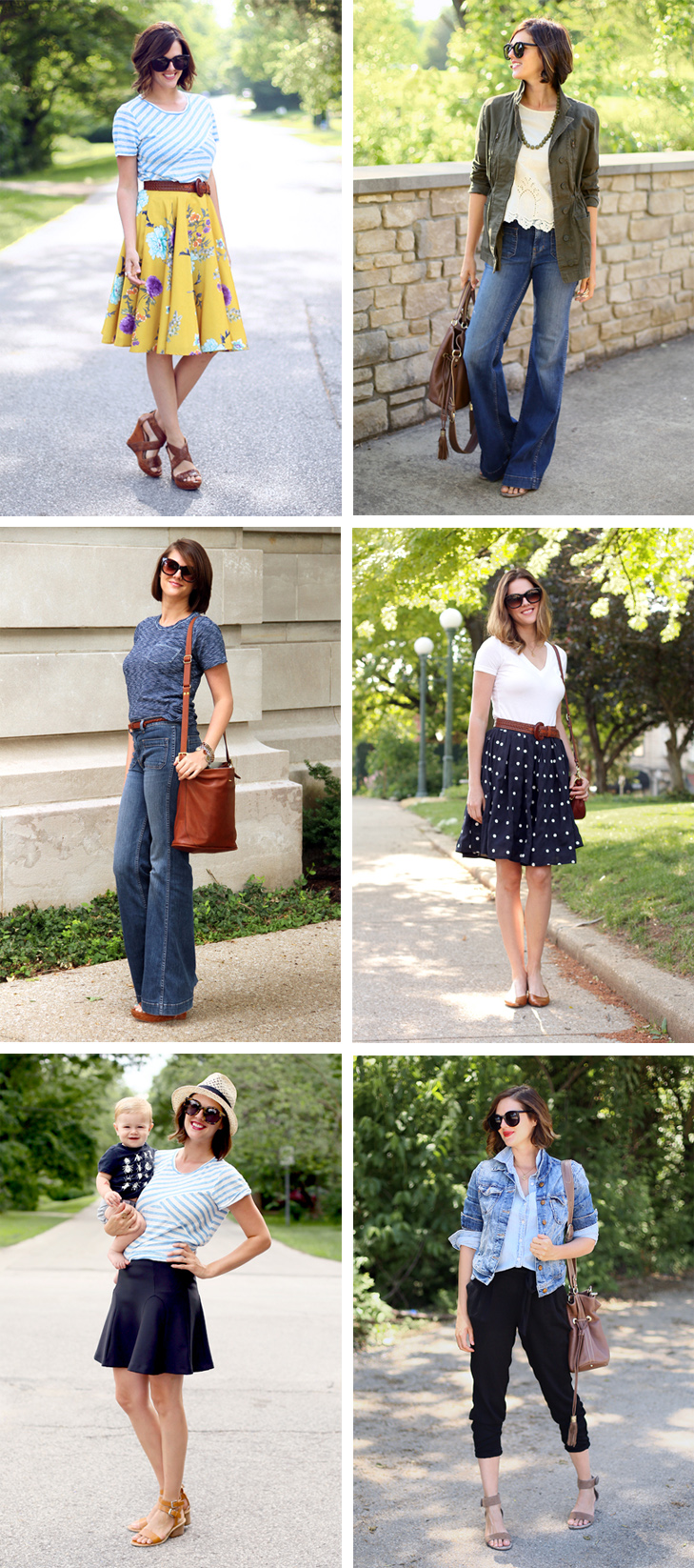 Spring Outfit Ideas, Jessica Quirk outfits, What to wear for spring