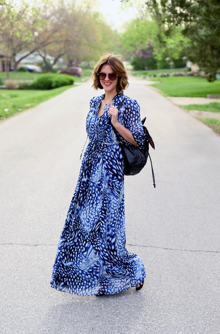 Flowy Dress, Maxi Dress