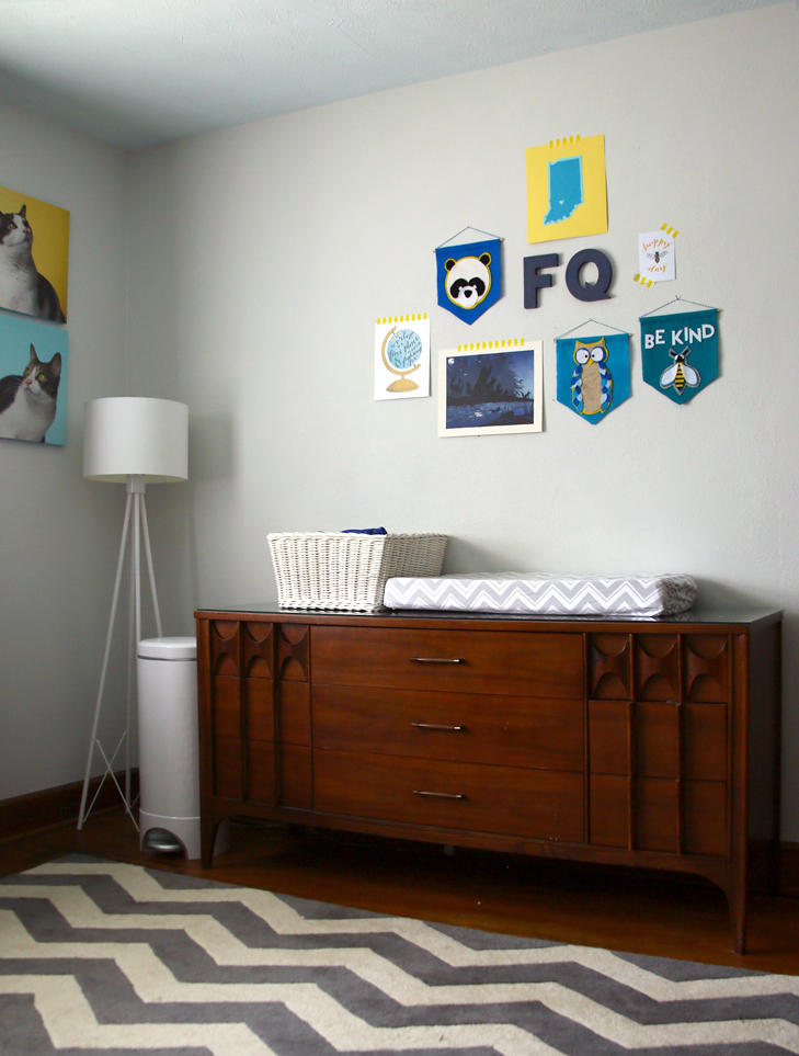 Toddler Boy's Room, Updating bedroom for toddler, rainbow nursery, blue and yellow nursery