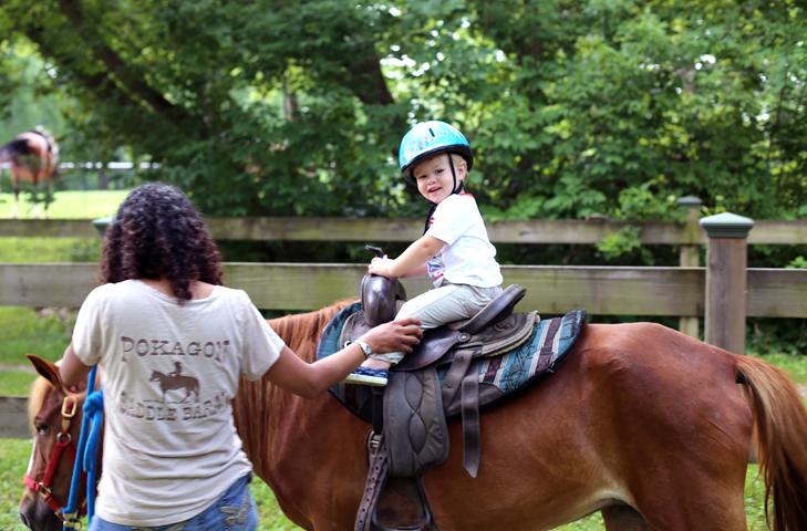 Pony Rides at Pokagon State Park, Pokagon, Pony Rides