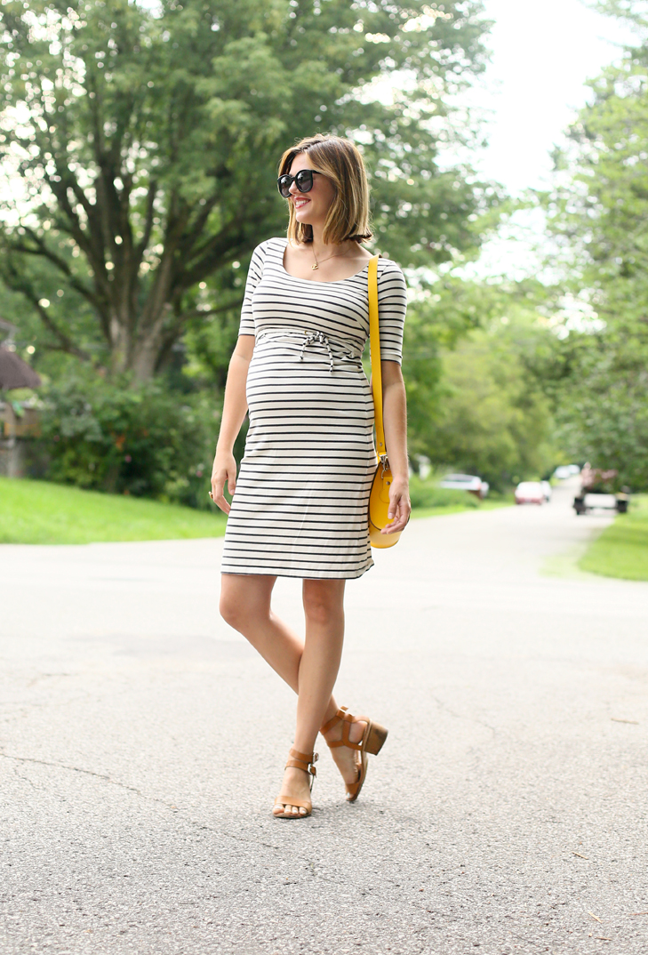 Summer Maternity Outfit, Cute Maternity Outfit, Jessica Quirk, Pregnancy, Stylish Pregnancy, 2nd trimester