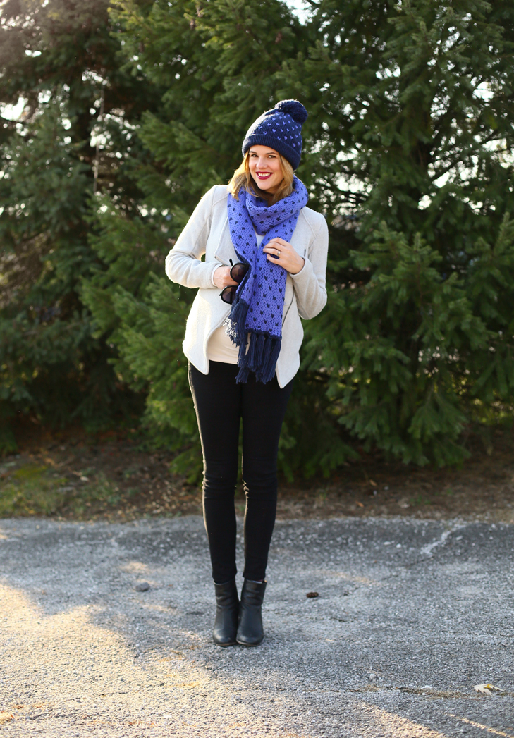 Bright Accesories, Cute Hat Scarf Combo, Holiday Brights, Old Navy