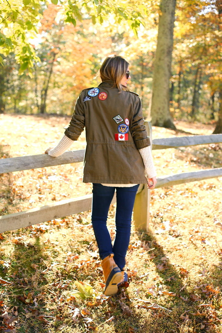 Patch Jacket, Patches on Army Jacket, Patched Army Jacket, DIY Patch Jacket