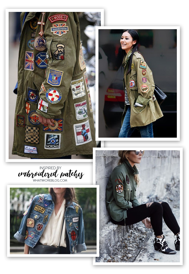 Patch Jacket, Iron on Patches, Inspired by Patches, How to wear a patched jacket