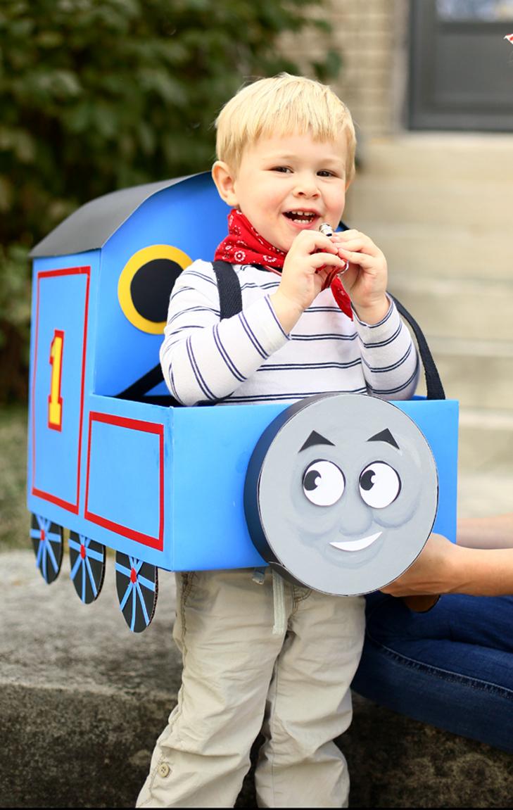 Thomas the Train Costume, Thomas Costume, Toddler Halloween, Pregnant Rosie the Rivetor, Pregnancy Costume