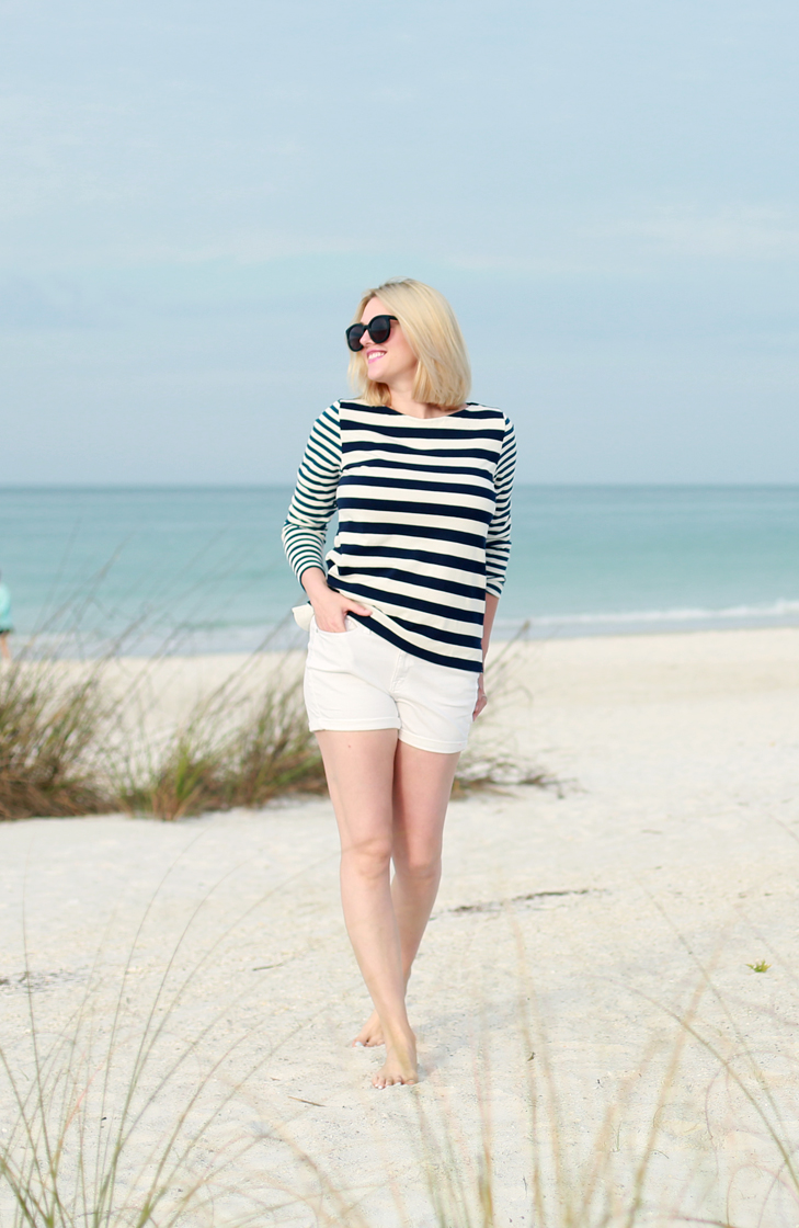 Beach Blonde Hair, Blonde Bob, Ashy Blonde, Cool Blond, Nautical Outfit, Modest Spring Break, Beach Outfit, Spring Break Outfit