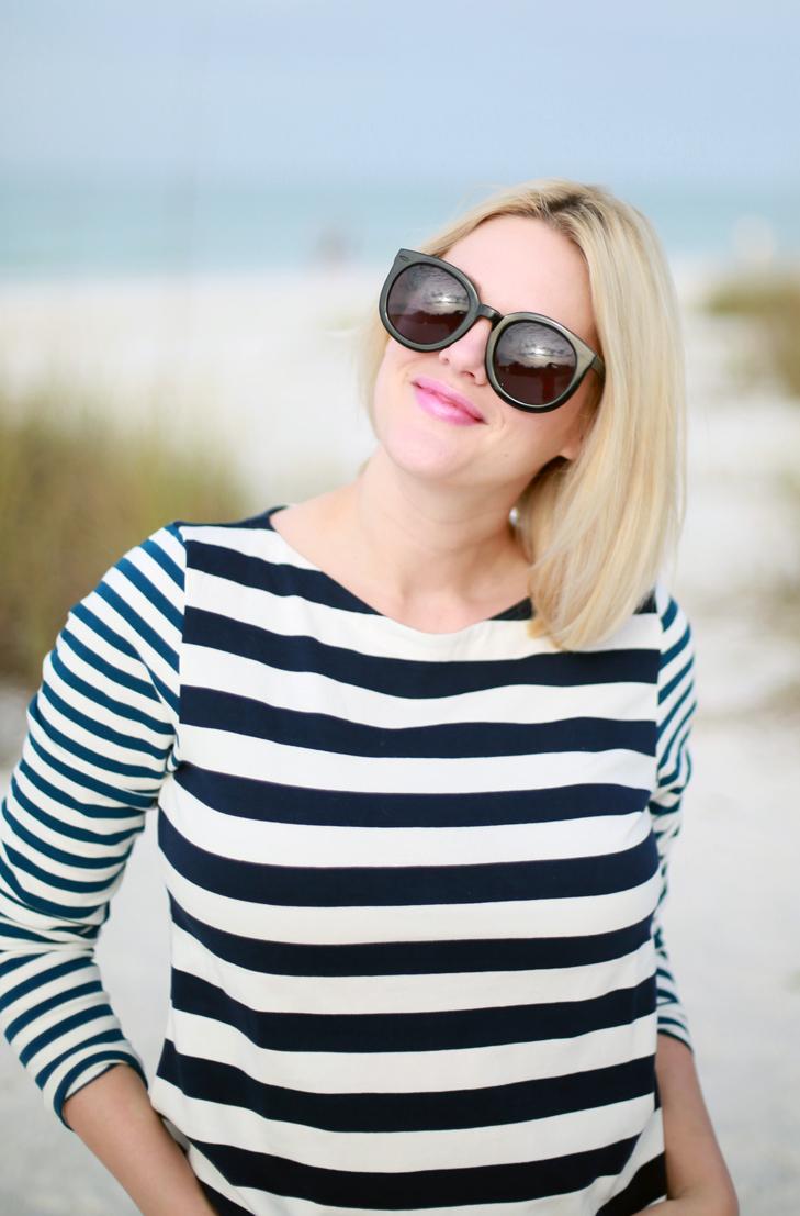 Beach Blonde Hair, Blonde Bob, Ashy Blonde, Cool Blond, Nautical Outfit, Modest Spring Break, Beach Outfit, Spring Break Outfit