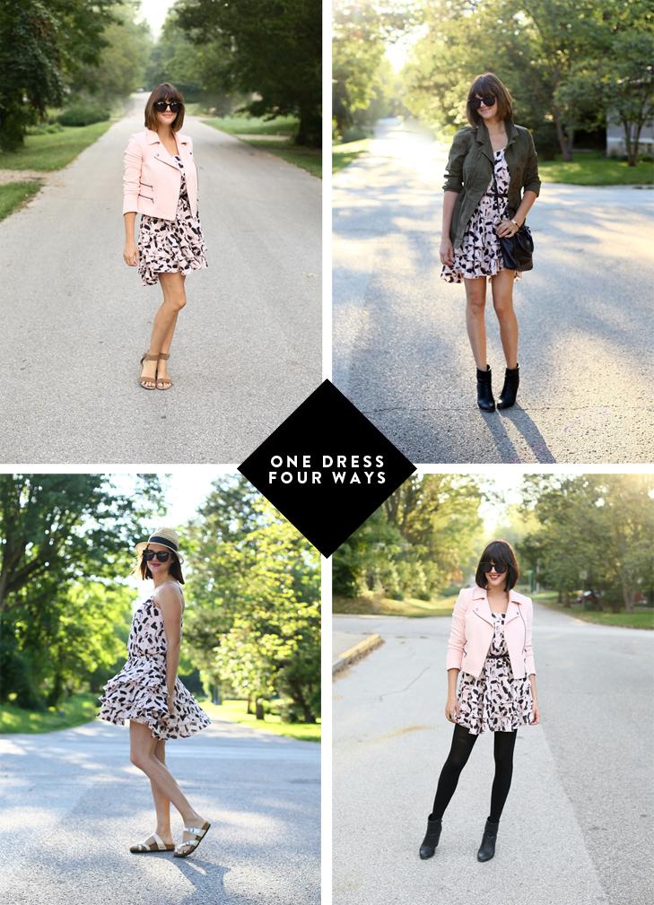 Summer Sundress, How to wear last years dress, how to tie a neck scarf, SAHM, SAHM Outfit Idea