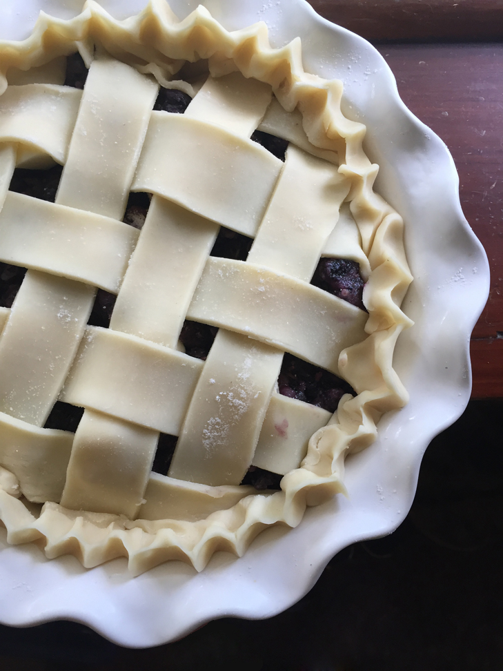 Mulberry Pie Recipe, Homemade Mulberry Pie, Simple Mulberry Pie