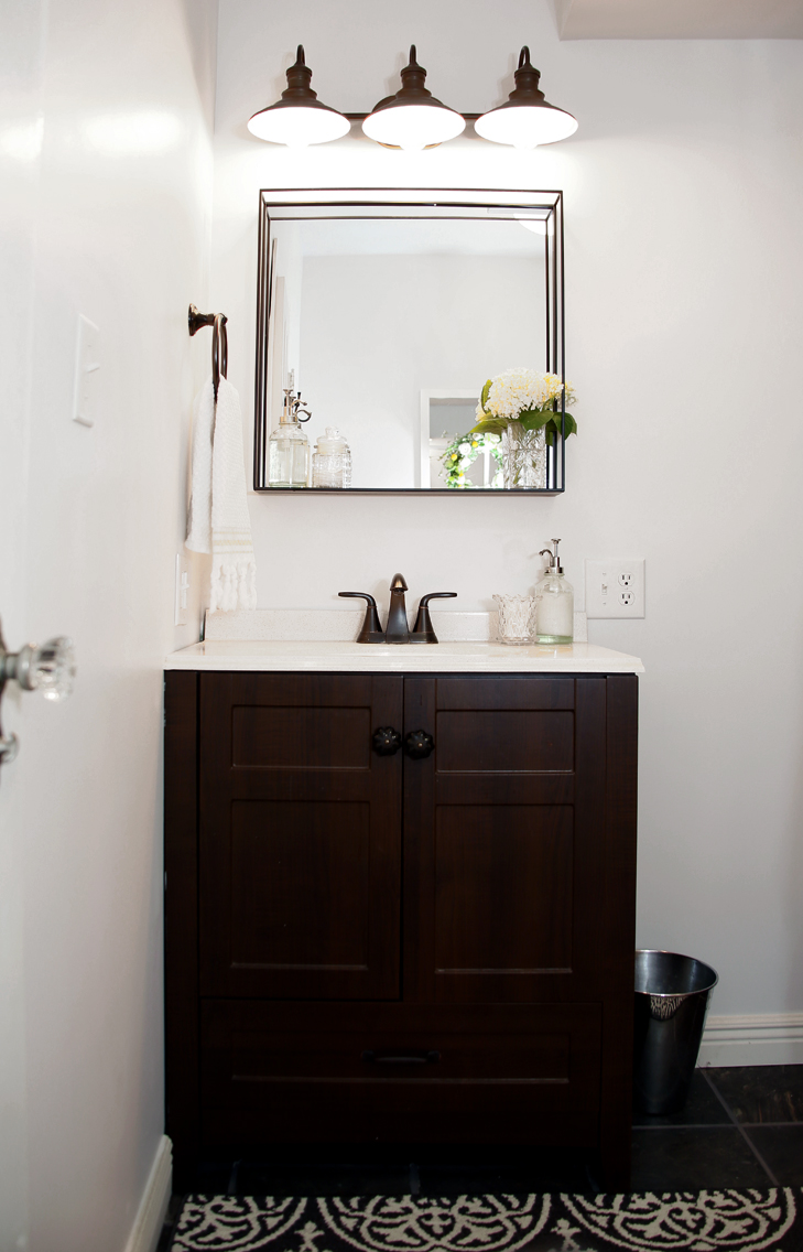 things new build a bathroom diy all vanity how farmhouse guest to