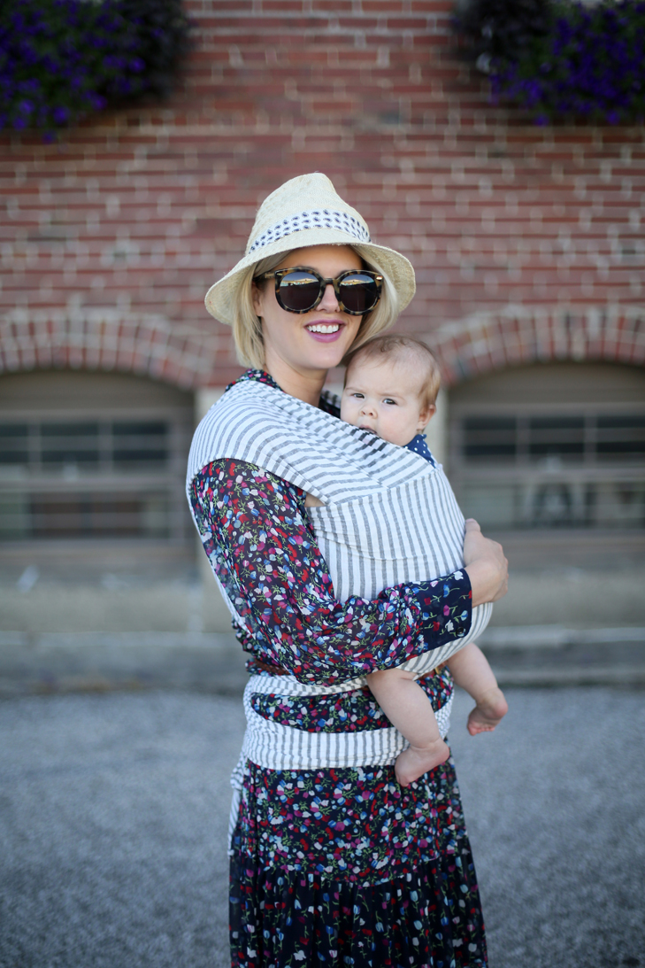Baby Wrap, Solly Baby Wrap, Baby Wrap Outfit, Jessica Quirk, SAHM