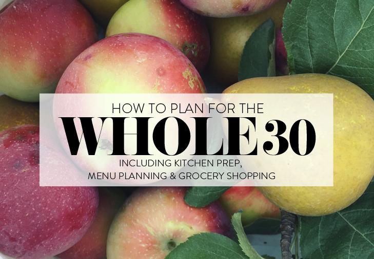 Whole 30 Basics, How to do a Whole 30