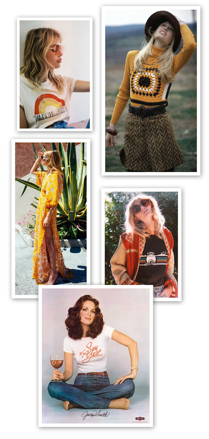 70s style, 70s fashion, 70s mood board, How to Create a Mood Board