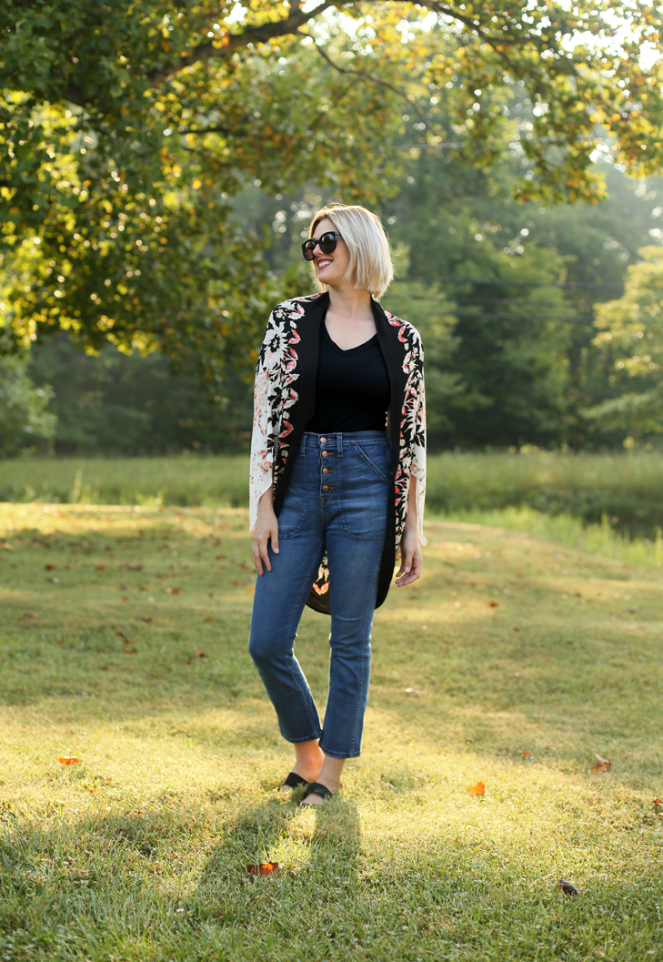 How to Style High Rise Jeans