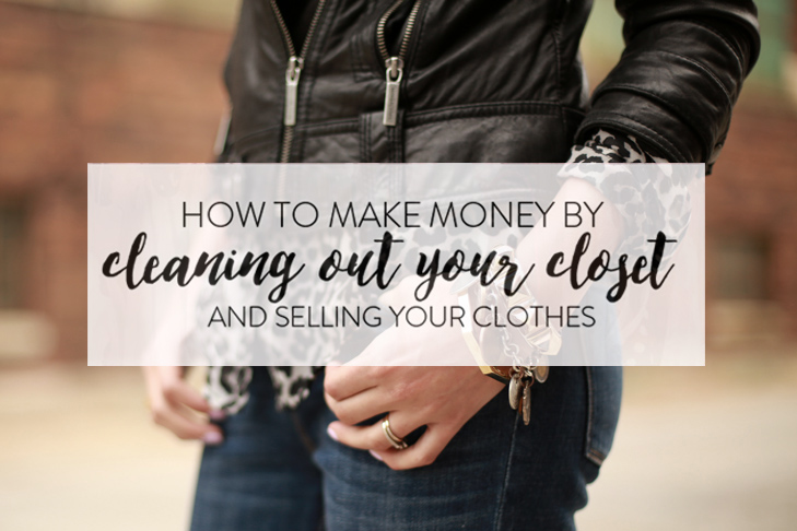 how to make money cleaning out your closet