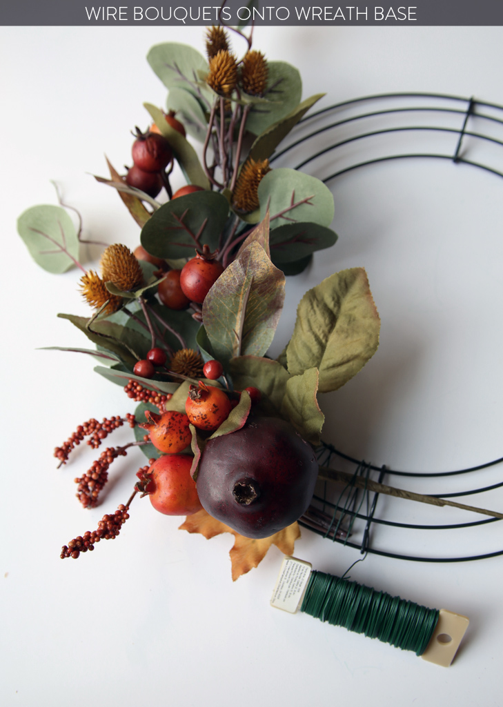 Autumn Wreath, Harvest Wreath, Wreath DIY