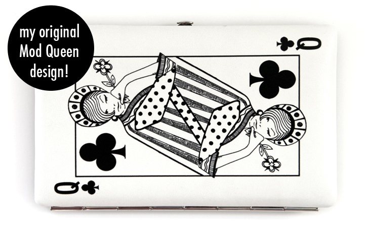 Queen of Clubs, Jessica Quirk, Kodak Gallery Clutch, Kodak Gallery Free Shipping, Digital Clutch, Digital DIY, DIY clutch