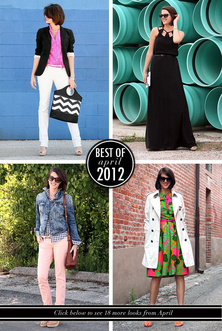 Best of What I Wore April 2012