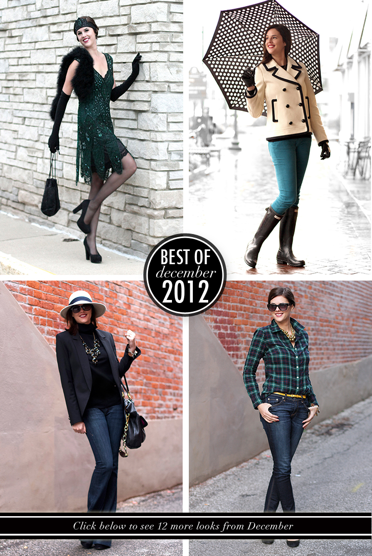 Best of What I Wore December 2012