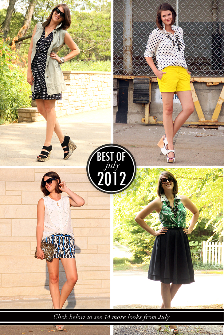 Best of What I Wore, What I Wore, What i Wore Today, Jessica Quirk, What i Wore Jessica, Fashion Blog, What I Wore July, Style Blog, Personal Style Blog