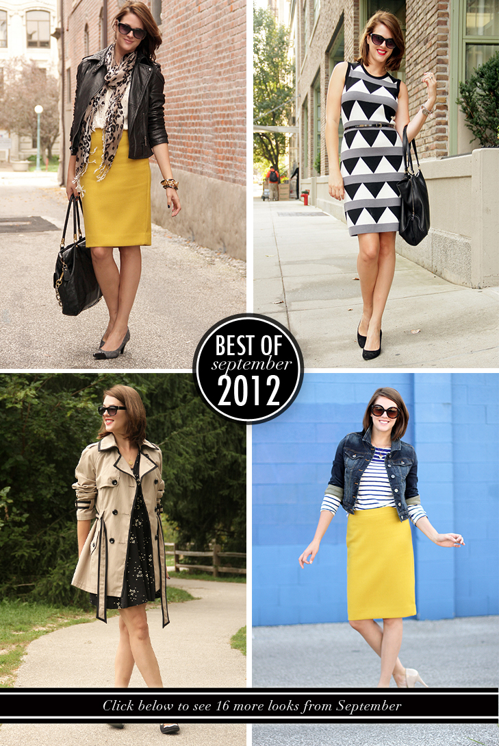 Best of What I Wore September 2012