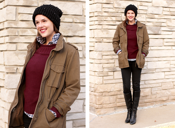 What I Wore, The What I Wore blog, WhatIWore, @whatiwore, Jessica Quirk, Gingham Remix, Cold Weather Outfits, Warm Outfits, Winter Outfits,