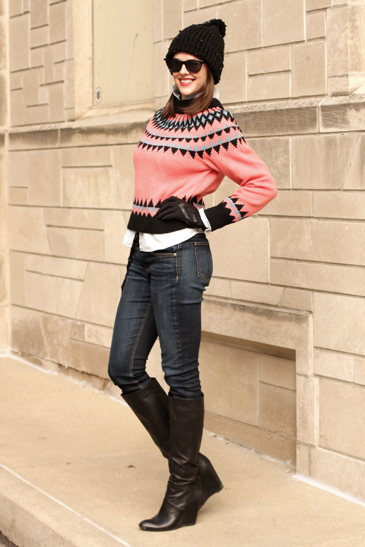 Jessica Quirk of What I Wore, Fashion Blog, Easy Winter Outfit Ideas