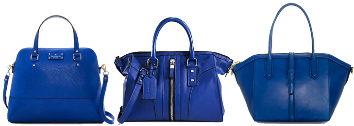 Cobalt Handbags, What I Wore