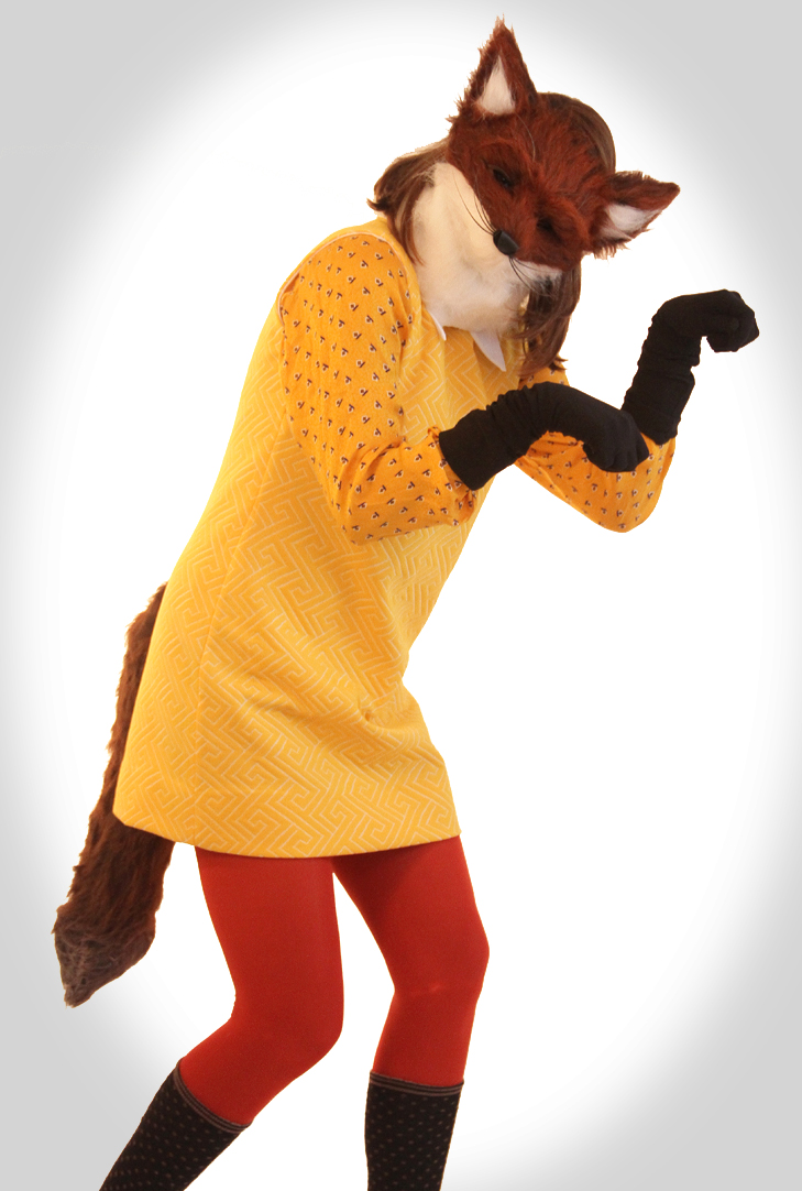 Fox Costume, Fantastic Mrs. Fox, Homemade Halloween, Halloween Costume, Cheap Halloween Costume, Creative Halloween Costume, DIY, Halloween DIY, Jessica Quirk, What I Wore, @whatiwore, Fashion Blog, Style Blog