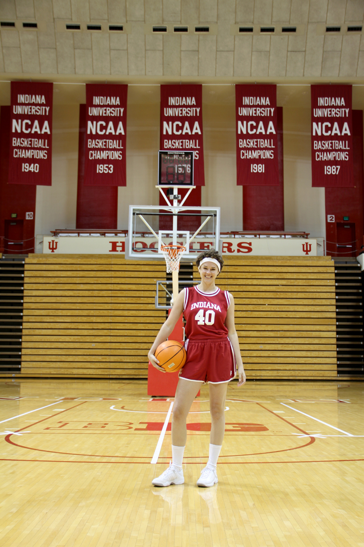 IUBB, Hoosier Basketball, IU Basketball Costume, IUBB costume, Hoosier Hysteria Outfit, B1G Ten, Sports Costume, Hoosier Costume, Hoosier Basketball, IU Blogger, Homemade Halloween, Halloween, DIY Halloween, Jessica Quirk, What i Wore,