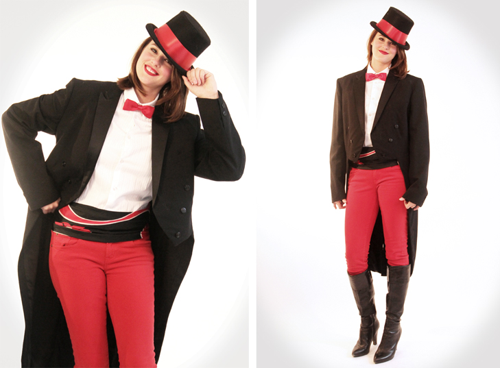 Ringmaster coat diy