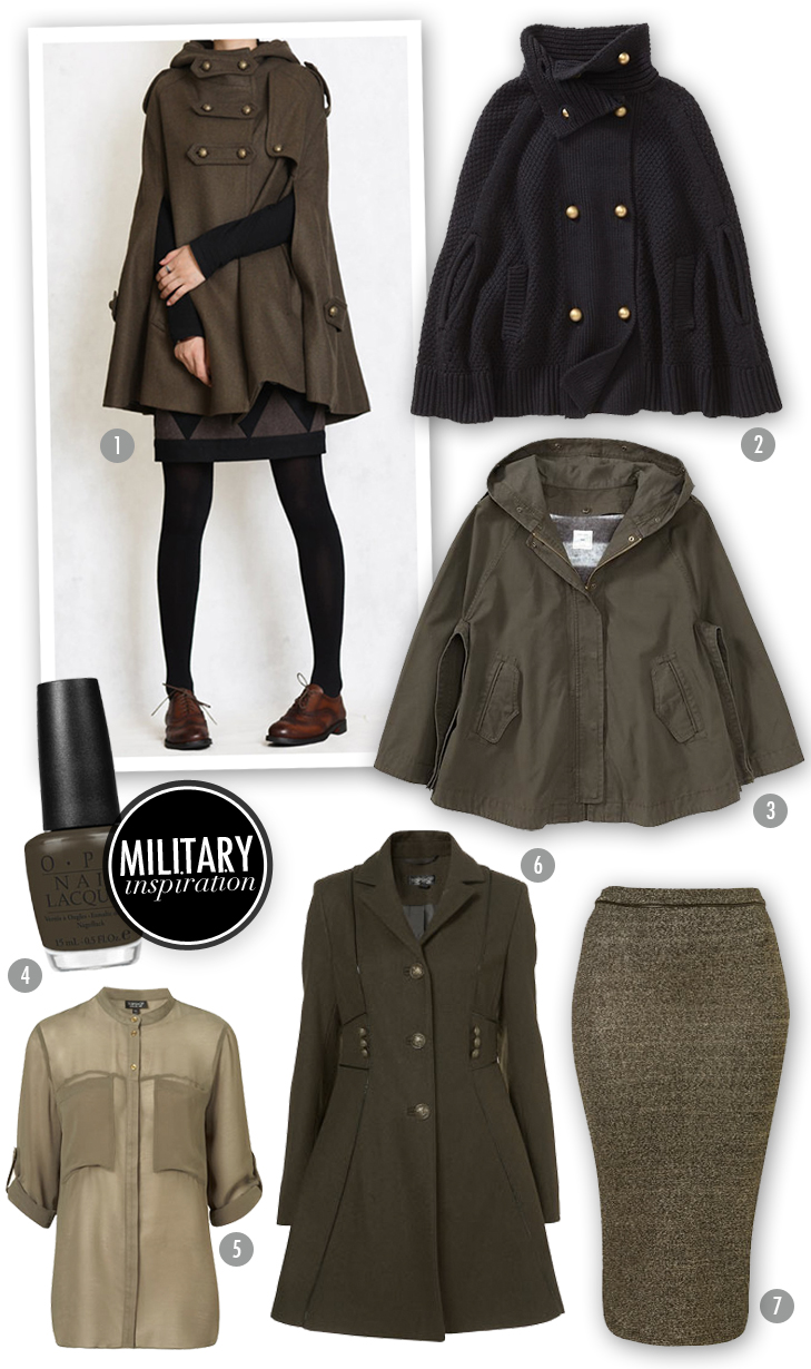 Inspiration Board Military Style On What I Wore