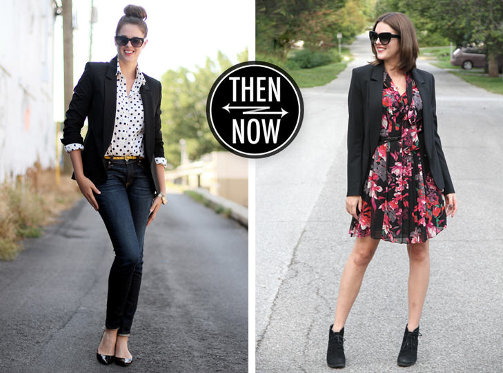 Jessica Quirk, What I Wore, @whatiwore, WhatIWore, Floral Dress, Krina Zabete for The Shops at Target, Theyskens' Theory Blazer