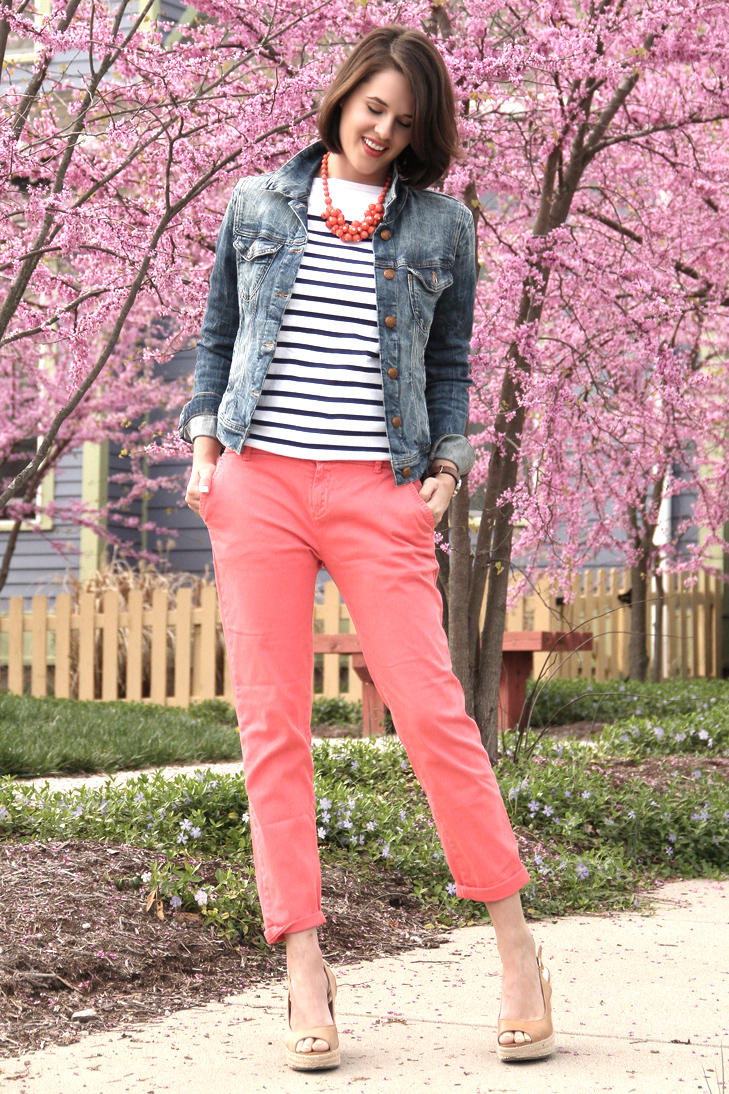 What I Wore: Coral Crush on What I Wore