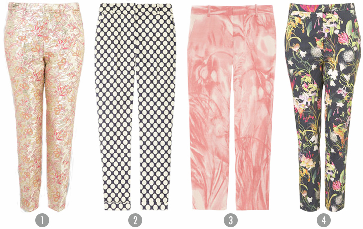Printed Pants, Shop the Trend